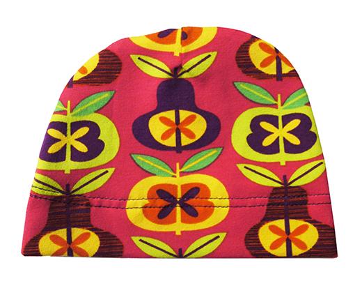 bonnet jersey de coton poire vintage biomome et bomino