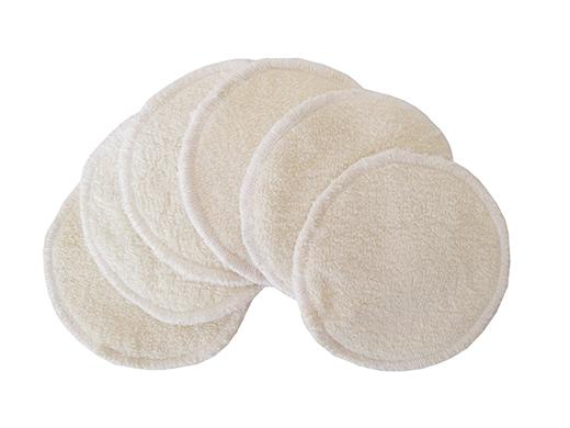 coussinet d'allaitement lavable maman bambou et pul biomome et bomino