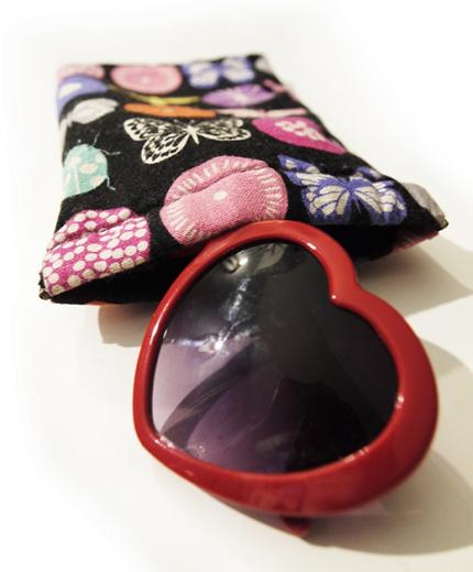 etui à lunette clic clac papillon kokka biomome et bomino