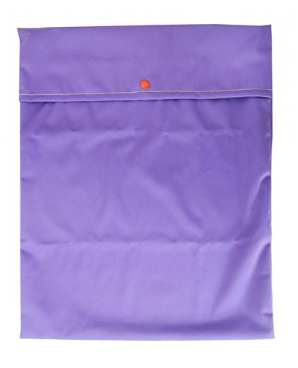 sac à couche lavable de voyage pul violet biomome et bomino