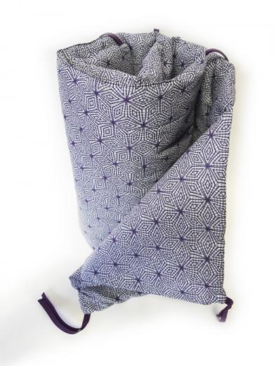 tour de lit arachnéen violet biomome et bomino