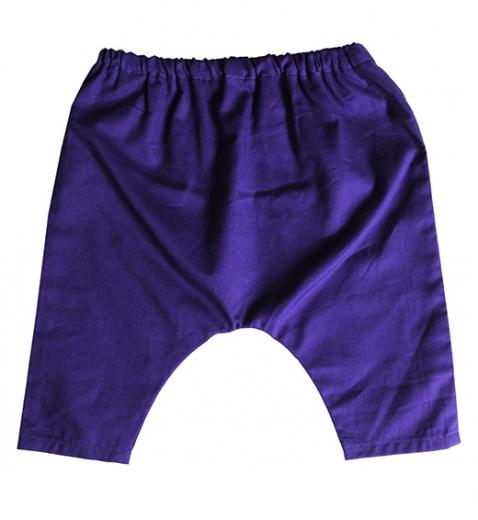 sarouel violet biomome et bomino